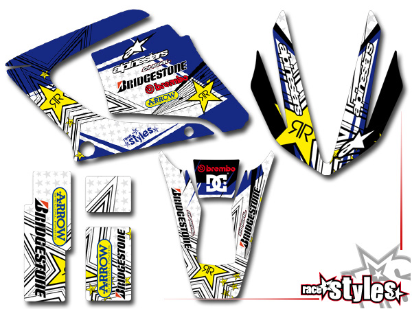 Yamaha Rt Plastic Kit